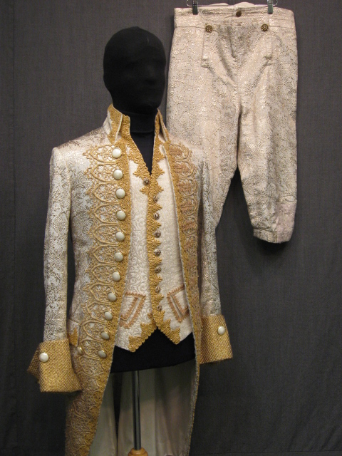 18th Century Vest 18th Century Men S Men C40 White Gold